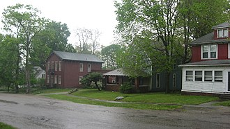 National Register of Historic Places listings in Fountain County, Indiana - Image: Attica Main Street Historic District