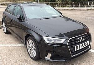 C-segment - Image: Audi A3 2015