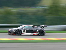 Photo d'une Audi R8 LMS.