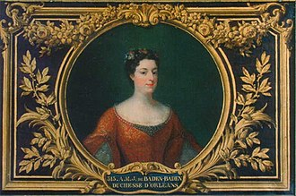 Duchess Sibylle of Saxe-Lauenburg - Sibylle's only surviving daughter Johanna, future Duchess of Orléans, by Belle