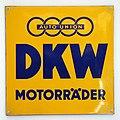 Auto Union DKW Motorrader emaille werbeschild.JPG