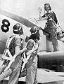 Avenger Field WASPs and training aircraft.jpg