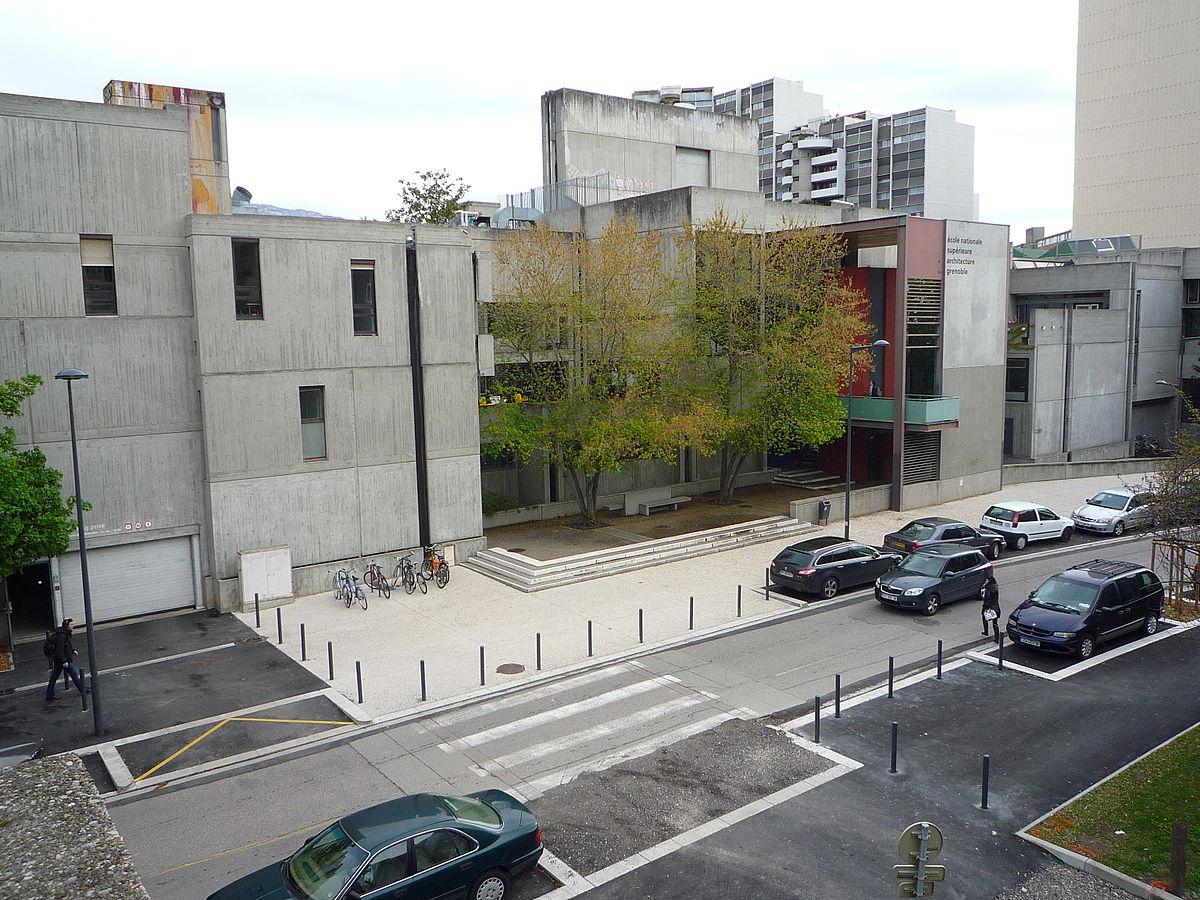 Cole nationale sup rieure d 39 architecture de grenoble Ecole architecture