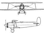 Avia BH-26 2-view L'Aéronautique July,1927.png