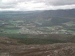 Aviemore Human settlement in Scotland