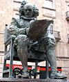 Aviles - Plaza de Camposagrado, monumento a Juan Carreño de Miranda 2.JPG