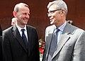 Axel Klausmeier with Direktor der Gedenkstätte Berliner Mauer mit Thomas Miller (9499289875).jpg
