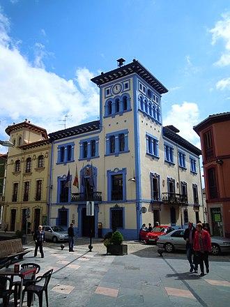 Grado, Asturias - Town hall of Grado