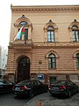 Azerbaijani Embassy, BMWs, Eotvos Street, 2016 Terezvaros.jpg