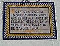 """Azulejo Joselito """"el Gallo"""".jpg"""