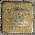 Bán Ferencné stolperstein (Budapest-13 Hollán Ernő u 3).jpg