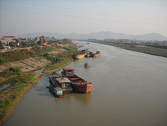 Cầu River - Cầu River at Việt Yên, Bắc Giang