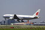 B-2069 - Air China - Boeing 777-2J6 - SHA (10925329975).jpg