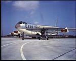 B-52D Wichita with Kaydet trainer K3239 (7251401670).jpg