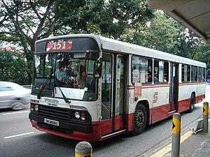 Singapore Bus Service - Image: B10M MK2