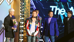 BIGBANG on Gaon Chart Music Awards 2016.png