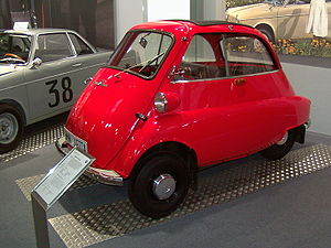 BMW Isetta in the BMW Museum in Munich
