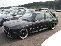 BMW M3 E30.