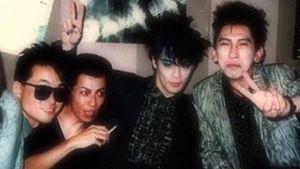 Boøwy - Boøwy in 1985. (l-r) Takahashi, Matsui, Himuro, Hotei