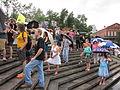 BP Oil Flood Protest NOLA Brollys.JPG