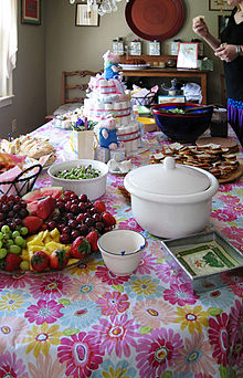 Baby Shower Buffet Food Ideas