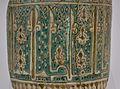 Bací de ceràmica (detall), finals del segle XII - principis del segle XIII, museu arqueològic i etnològic del Comtat.JPG