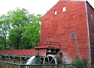 Backus Mill Heritage and Conservation Centre - Image: Backhouse Grist Mill NHS