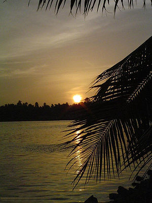Backwaters sunset.JPG