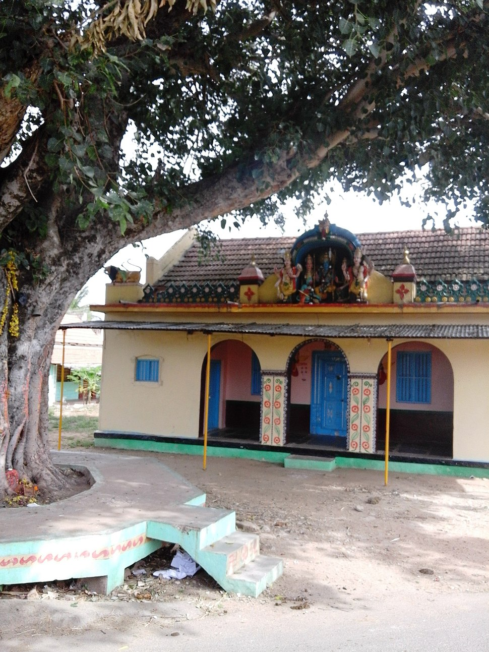 Badanaguppe. Pannethundi temple 2