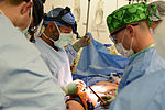 Bagram medics respond to mass casualty incident 140805-F-LX971-131.jpg
