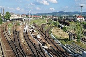 Görlitz–Dresden railway - Bautzen station