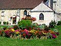 Bailleval (60), vieux pressoir devant l'église.jpg