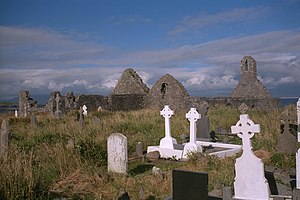 Ballinskelligs - The Priory, Ballinskelligs
