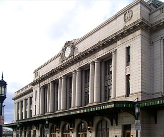 Pennsylvania Station (Baltimore) - Image: Baltimore Pennsylvania Station corrected