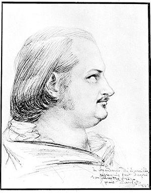 Portrait of Honoré de Balzac