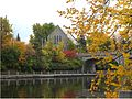 Bank Street Bridge and Southminster United Church Overlooking The Rideau Canal.jpg