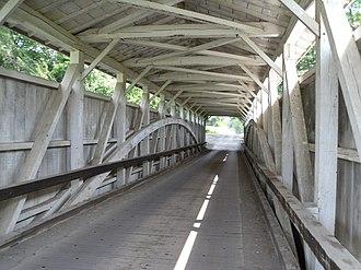 Banks Covered Bridge - Image: Banks Covered Bridge Pennsylvania (4826579892)
