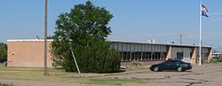 Banner County, Nebraska courthouse from SW 3.JPG