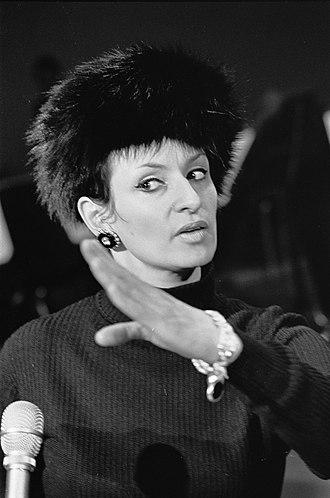 Barbara (singer) - Barbara in 1968