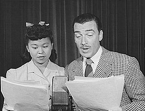 Barbara Jean Wong - Barbara Jean Wong with Walter Pidgeon in 1942