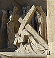 Barcelona Sagrada Familia sculptures Passion facade 2017 01.jpg