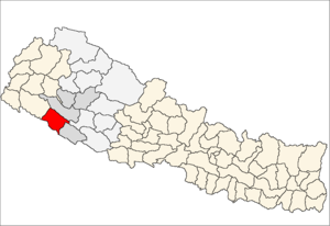 Bardiya District - Location of Bardiya