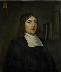 Portrait of Barend Hakvoort (1652-1735), bookseller, church reader and catechism master in Zwolle