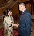 Baroness Warsi meets Professor Ekmeleddin İhsanoğlu (4727316254).jpg
