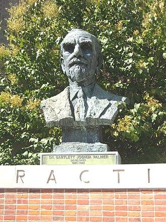 History of chiropractic - B.J. Palmer, developer of chiropractic