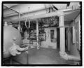 Basement mechanical room. - Ellsworth Air Force Base, Airmen's Dormitory, 1472 Luke Street, Blackhawk, Meade County, SD HABS SD-21-G-3.tif