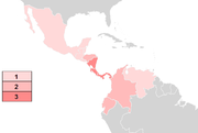 Basiliscus distribution.png
