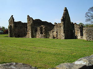 Basingwerk Abbey - Remains of Basingwerk Abbey