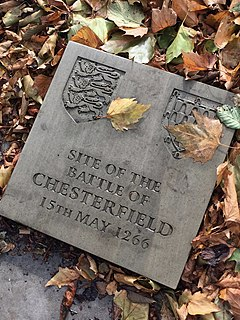 Battle of Chesterfield