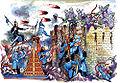Battle scene Sheki khan palace 2.jpg